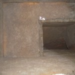 Ductwork contaminated by dirt and mold.